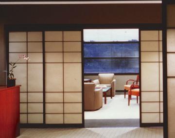 Reception Area Doors