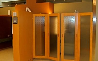 Final installation - shoji closing