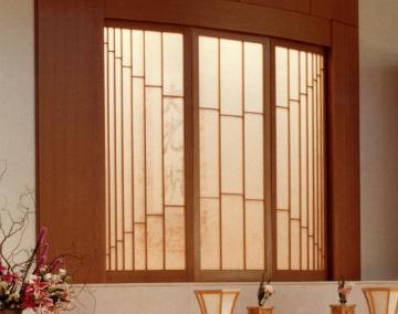 Curved Shoji Panel
