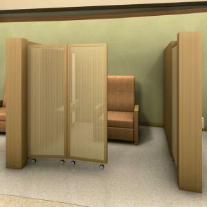 HGA rendering - one pair of doors in use
